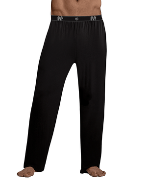 Male Power 188-253 Bamboo Lounge Pants Black