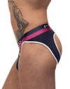 Male Power 302-246 French Terry Cutout Moonshine Navy - StevenEven.com