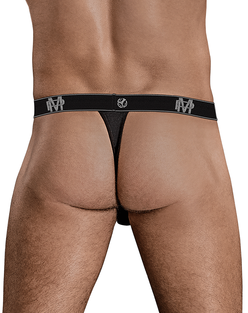 Male Power 433-253 Bamboo Micro Thong Black