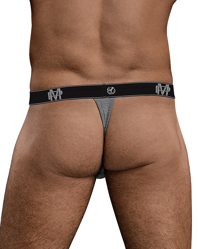 Male Power 433-253 Bamboo Micro Thong Gray
