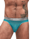 Male Power 442-252 Mesh Rib Bong Thongs Seafoam - StevenEven.com