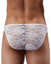 Male Power 491162 Stretch Lace Wonder Bikini White