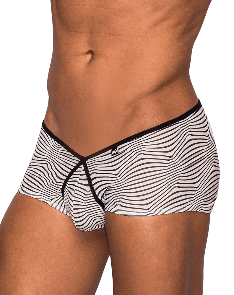Male Power 130234 Tranquil Abyss Micro Mini Short Briefs White