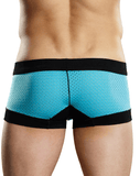 Male Power 142202 Athletic Mesh Sport Mini Short Boxer Briefs Blue