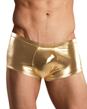 Male Power 153070 Heavy Metal Mini Short Boxer Briefs Gold - StevenEven.com