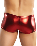 Male Power 153070 Heavy Metal Mini Short Boxer Briefs Red