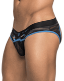 Male Power 307239 Clip Tease Moonshine Jockstrap Black