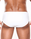 MALE BASICS OC03 Swim Bikini White - Steveneven.com