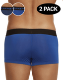 Papi 626173-968 2pk Cool 2 Neat Brazilian Trunks Blue-navy - StevenEven.com
