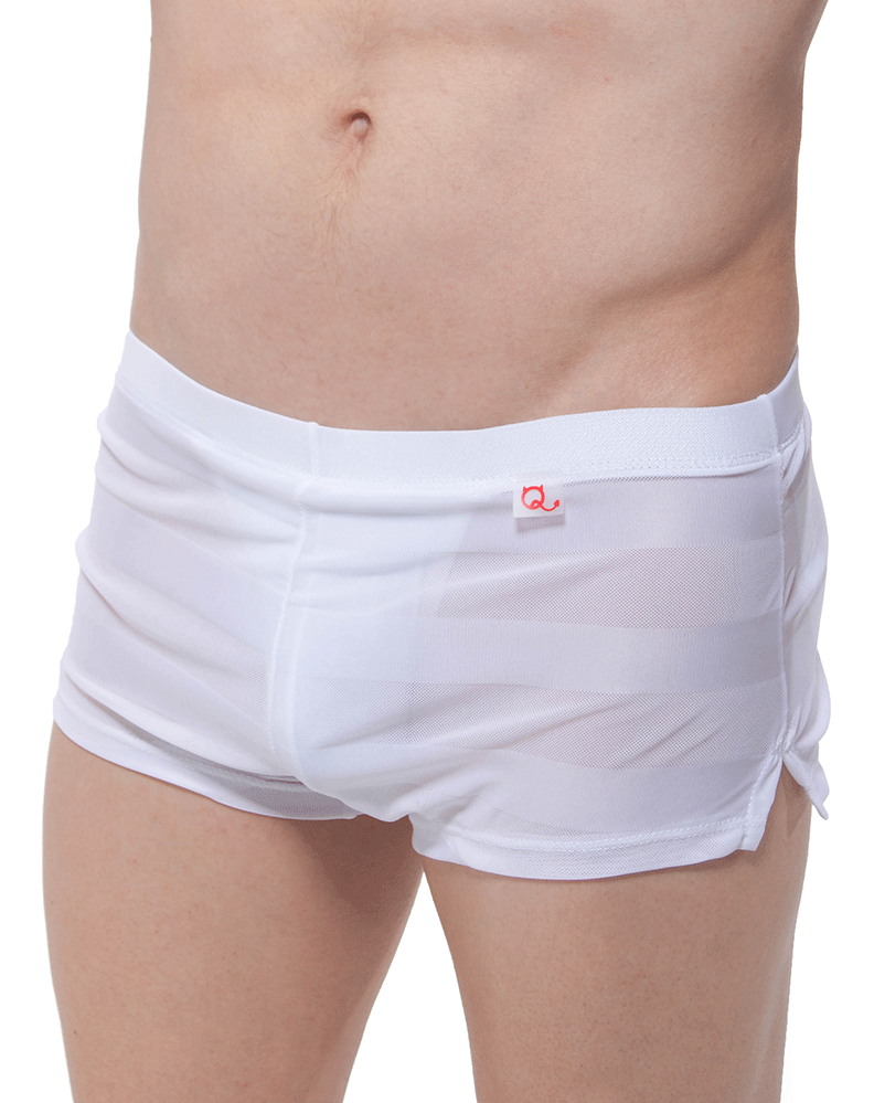 Petitq Pq180907 Jock Athletic Shorts White