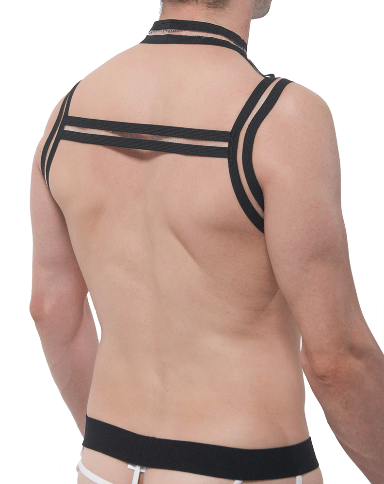 Petitq Pq180912 Kisin Harness Black - StevenEven.com