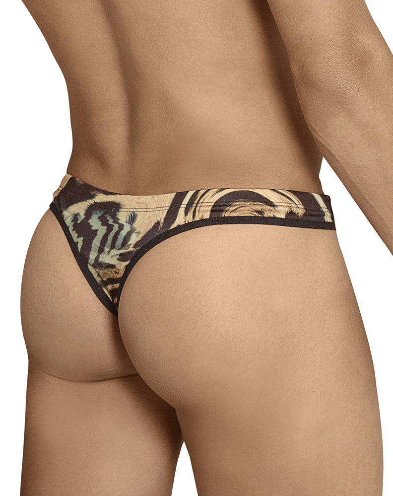 Pikante 8055 Baloo Castro Thongs Gold