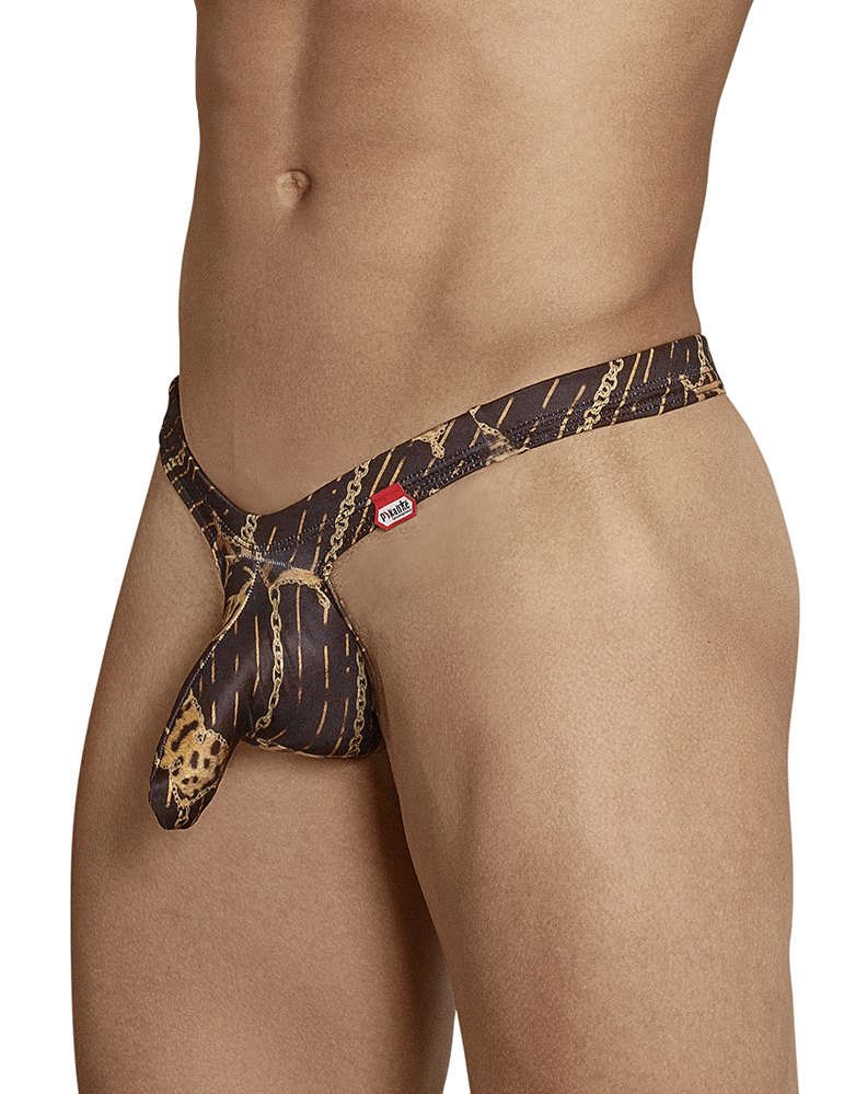 Pikante 8056 Sly Castro Thongs Black - StevenEven.com