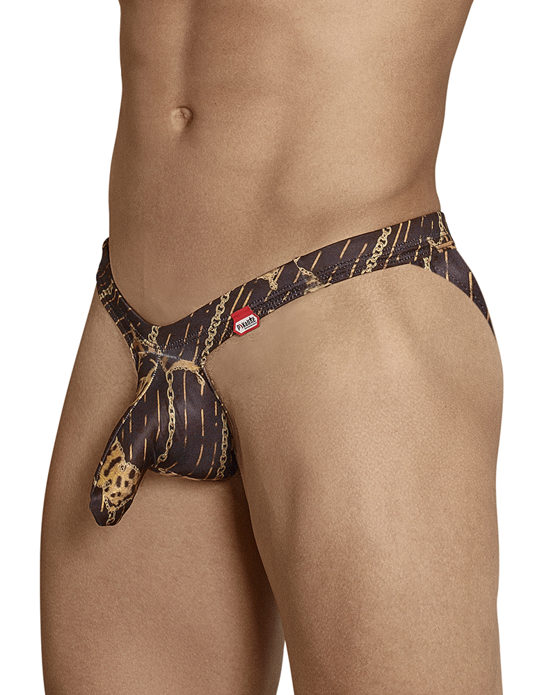 Pikante 8723 Sly Castro Briefs Black