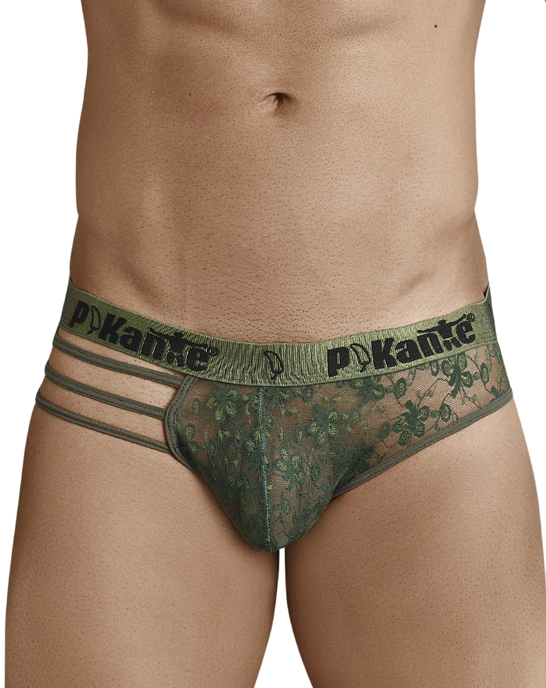 Pikante 8710 Affection Brief Green