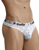 Pikante 8051 Angel Thongs White