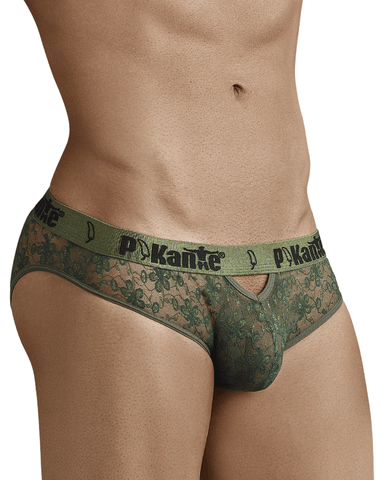 Pikante 8045 Alligator Thongs Blue