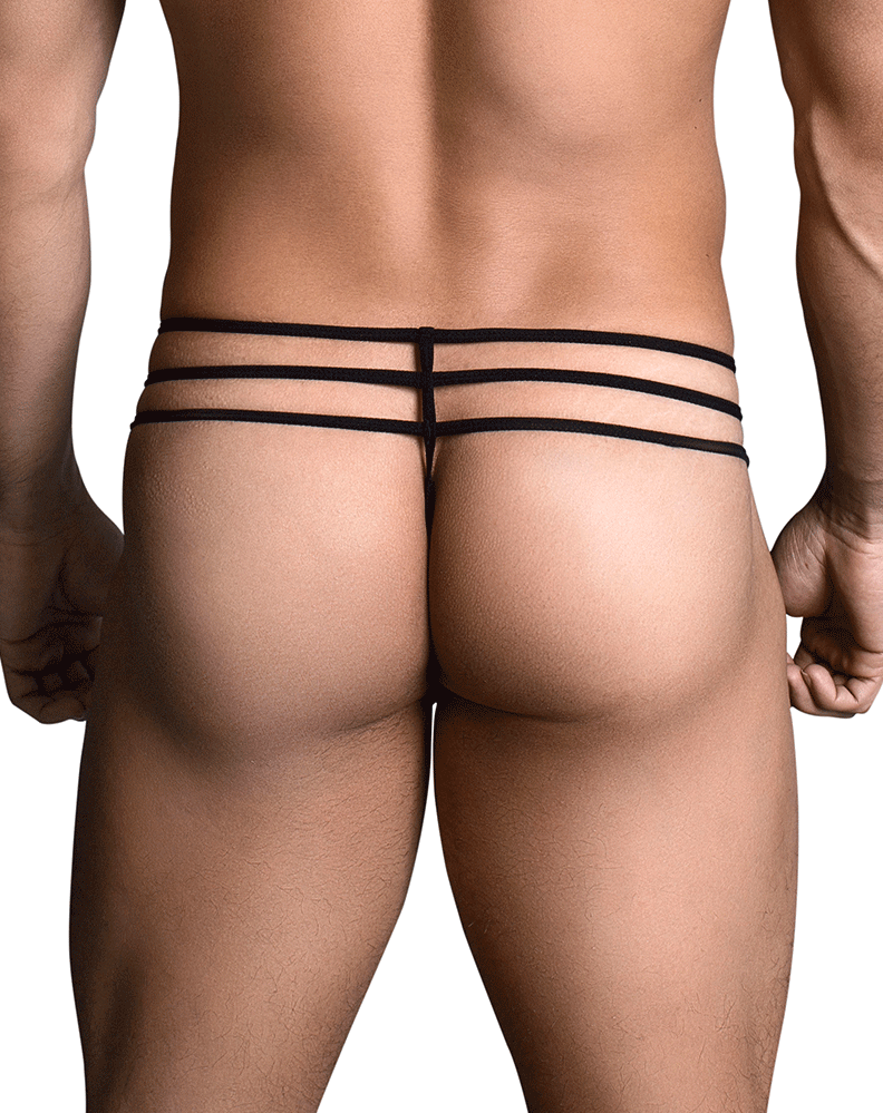 Ppu 1703 Thongs Black