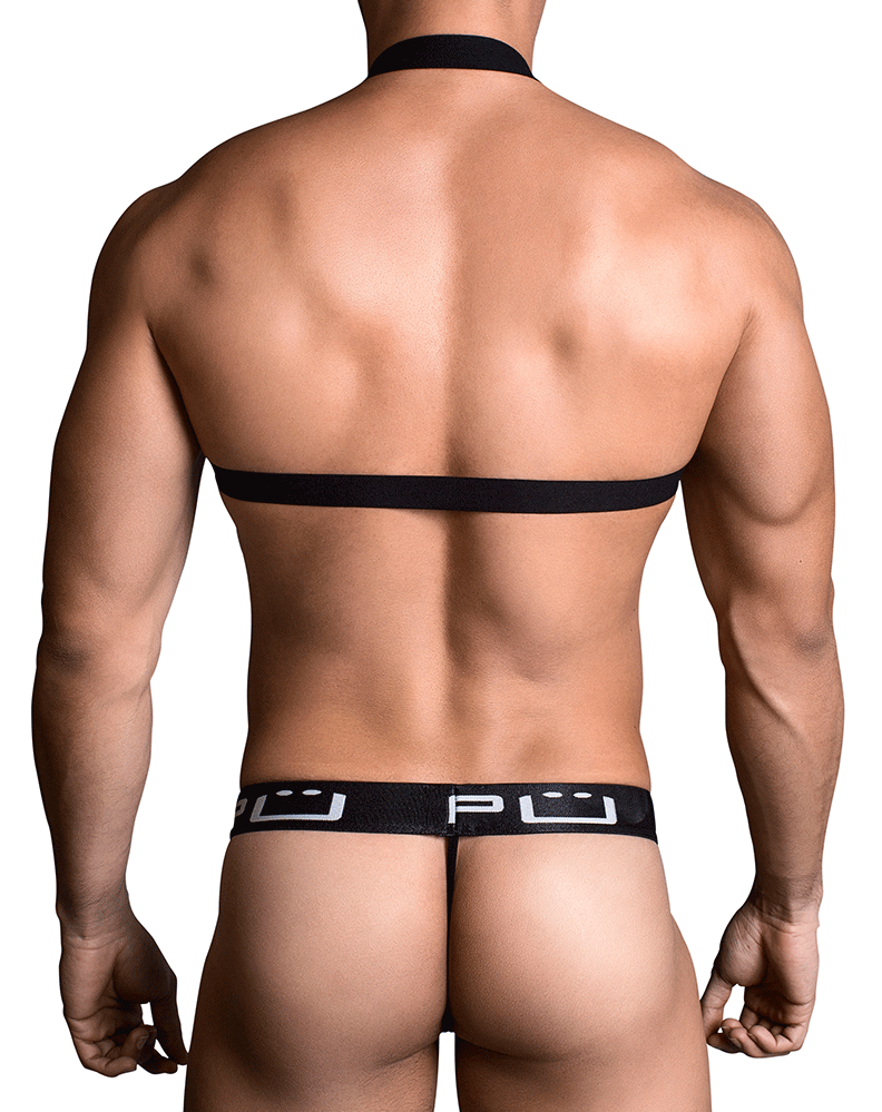 Ppu 1705 Thongs Black