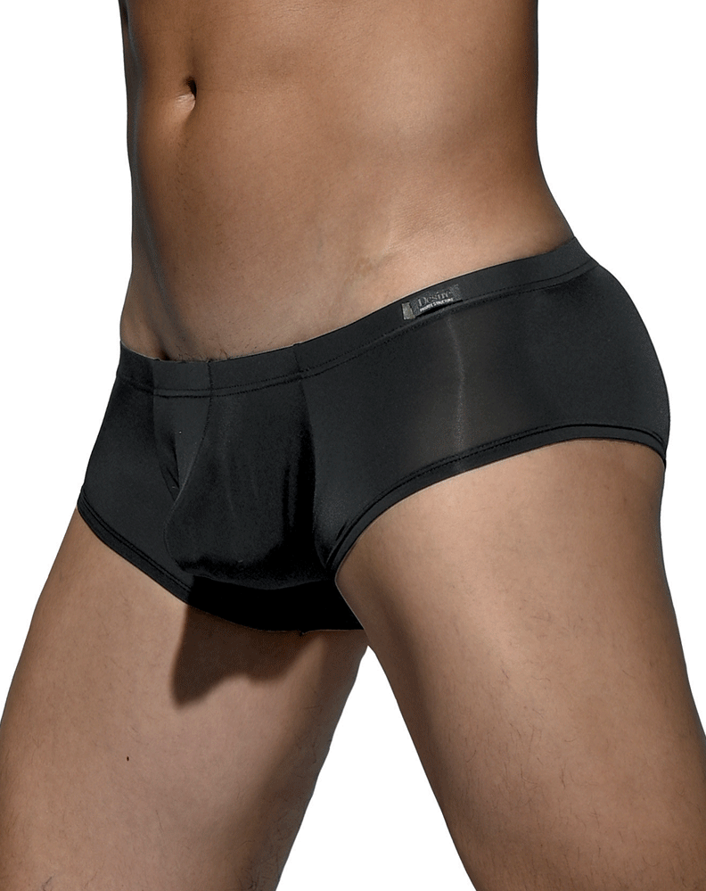 Private Structure Dgemu3487bt Desire Glaze Hipster Boxer Brief Black - StevenEven.com