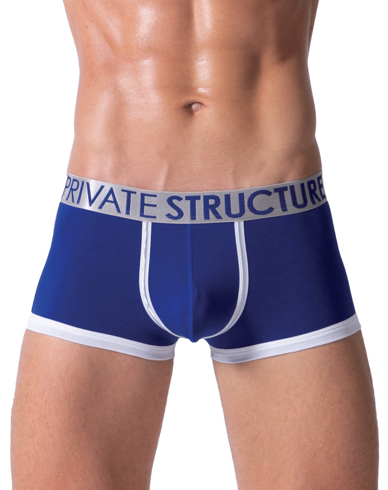 Private Structure Sxuz3682 Soho Spectrum X Boxer Brief Royal - StevenEven.com
