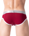 Private Structure Sxuz3683 Soho Spectrum X Briefs Maroon