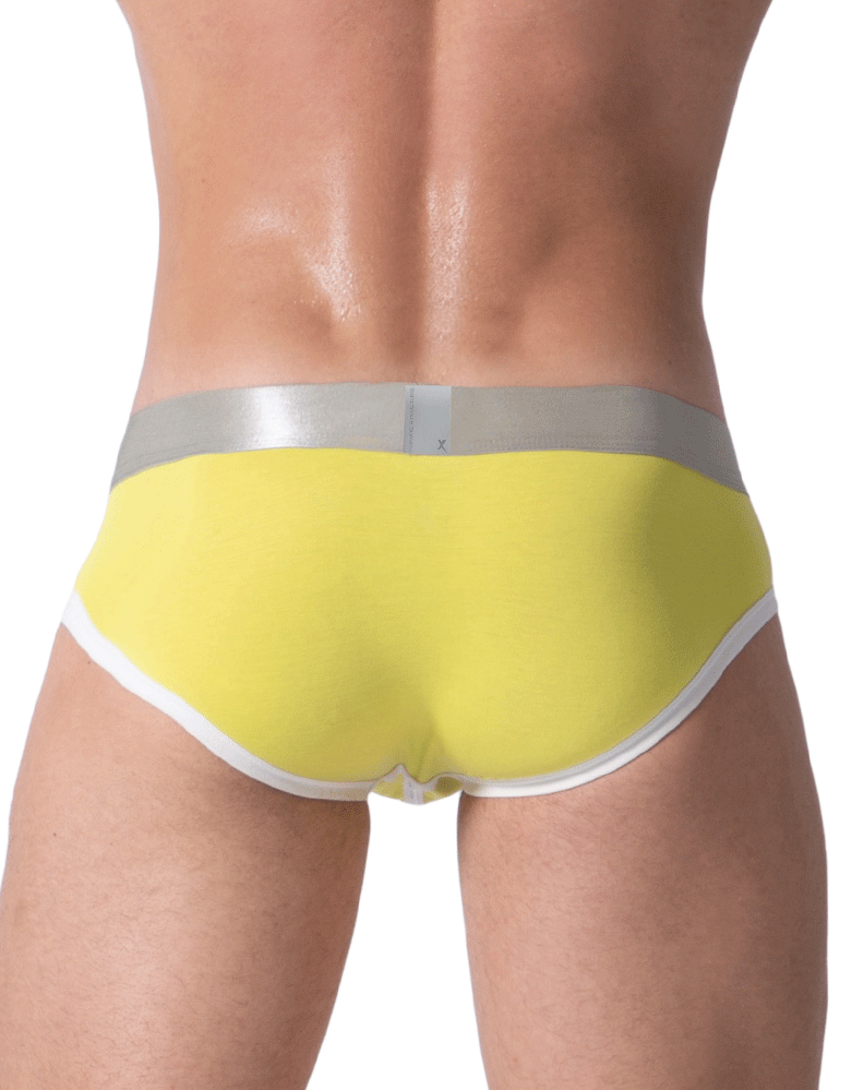 Private Structure Sxuz3683 Soho Spectrum X Briefs Yellow - StevenEven.com