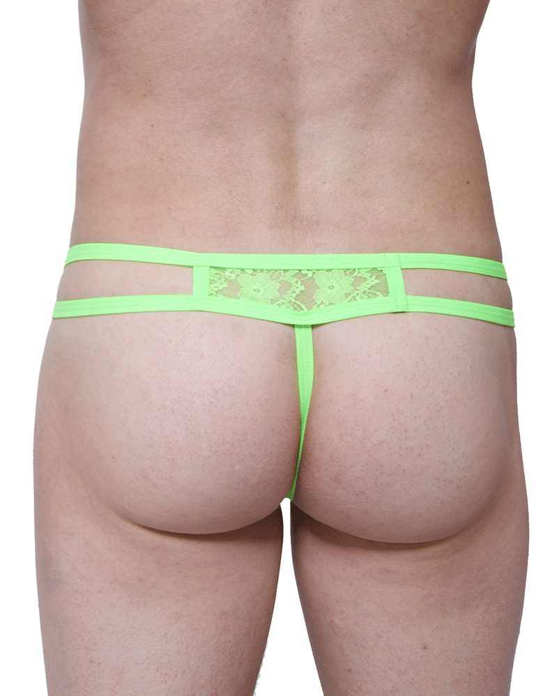 Petitq PQ180104 Thongs Ornex Green