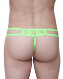 Petitq PQ180104 Thongs Ornex Green - StevenEven.com