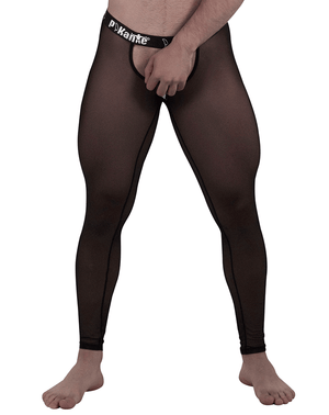 Pikante 6001 Soho Long Johns Black - StevenEven.com