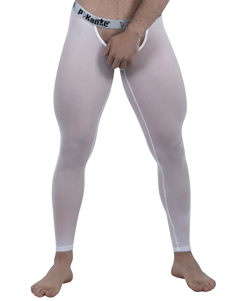 Pikante 6001 Soho Long Johns White