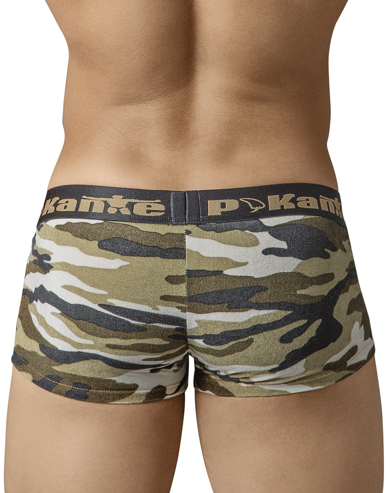 Pikante 8438 Plush Latin Boxer Briefs Green