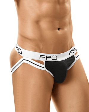 Ppu 0965 Jockstrap White/Black