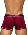 Private Structure Pbuz3749 Platinum Bamboo Trunks Cranberry Red