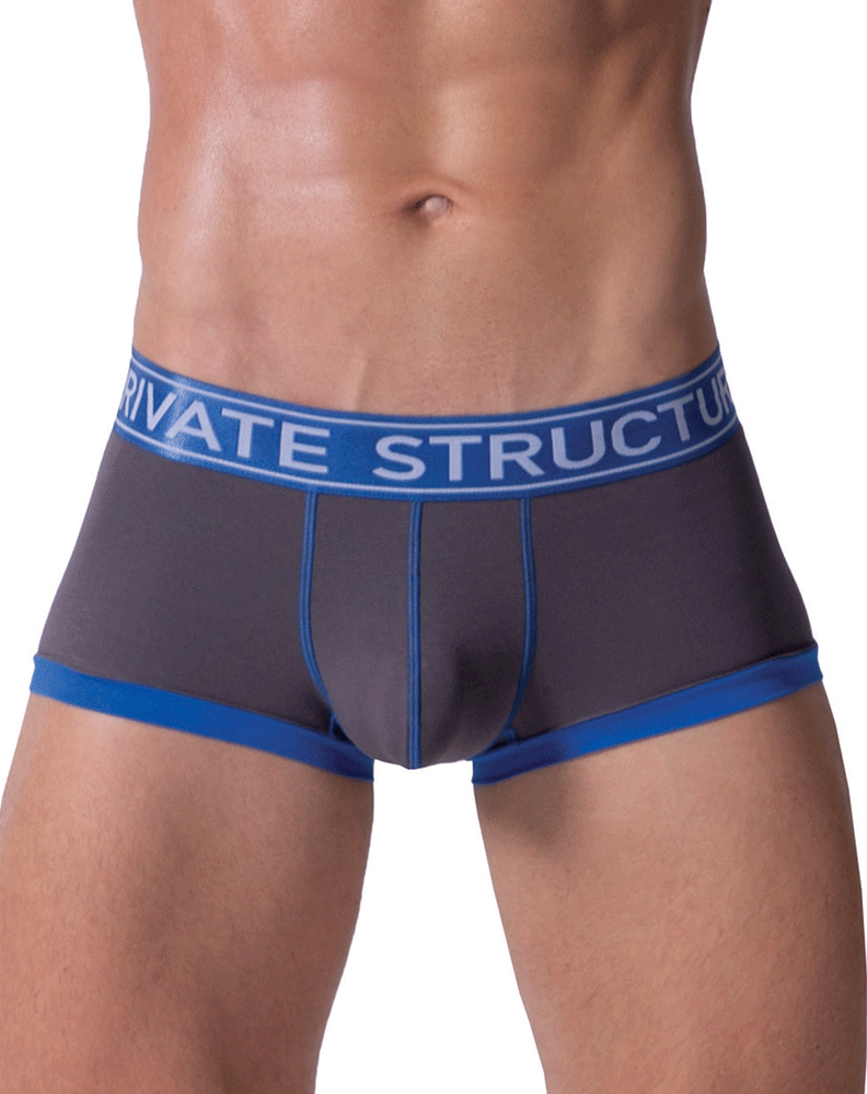Private Structure Sluz3680 Soho Luminous Boxer Briefs Royal - StevenEven.com