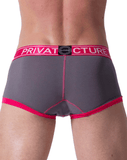 Private Structure Sluz3680 Soho Luminous Boxer Briefs Berry - StevenEven.com