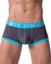 Private Structure Sluz3680 Soho Luminous Boxer Briefs Teal - StevenEven.com