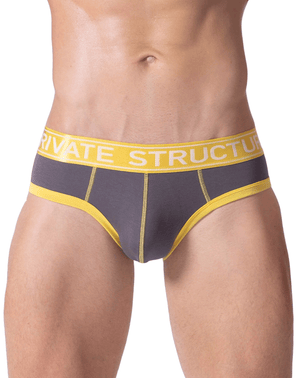 Private Structure Sluz3681 Soho Luminous Briefs Sunny - StevenEven.com