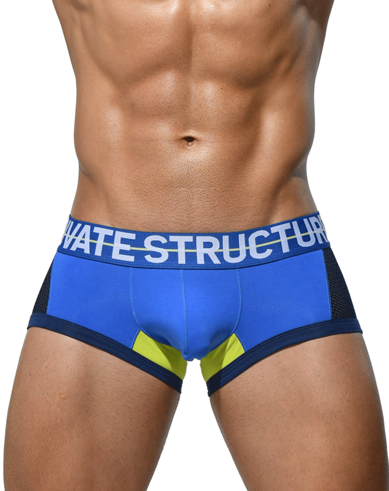 Private Structure Miuy3853 Momentum Orange Trunks Blue