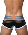 Private Structure Miuy3856 Momentum Orange Harness Trunk Black