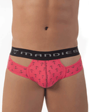 MANDIES MDS004 Anchor Briefs Coral