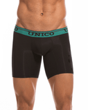 "MUNDO UNICO 1710092799 Boxer Brief Microfiber Bullerengue 10"" - Steveneven.com"