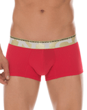 MUNDO UNICO 1720083589 Boxer/Trunk Microfiber Bacilon Red 7