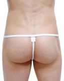 Petitq PQ170706 Biez Thongs White - StevenEven.com