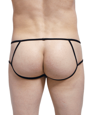 Petitq PQ170813 Peak Open Briefs Black - StevenEven.com