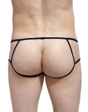 Petitq PQ170813 Peak Open Briefs Black