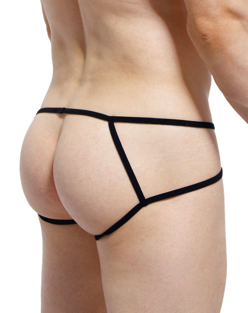 Petitq PQ170814 Peak Open Briefs Black