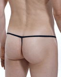 Petitq PQ171012 Open Thongs Black