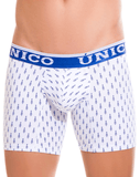 Unico 1901010021230 Boxer Briefs Expression White - StevenEven.com
