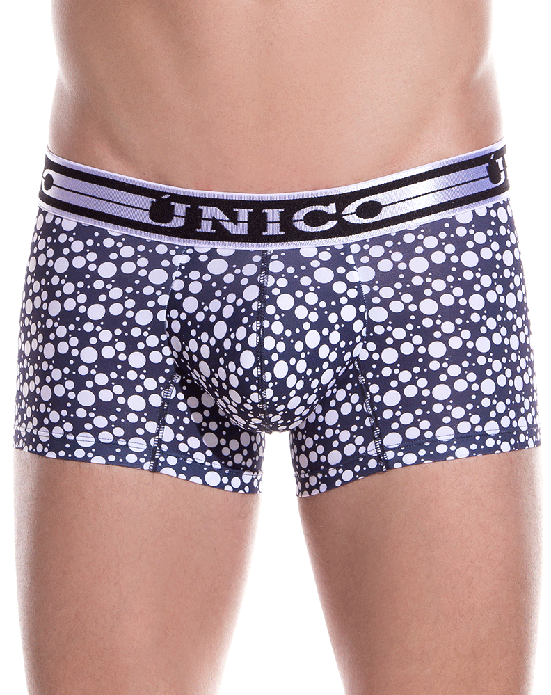 Unico 1902010012391 Trunks Theory Black-white